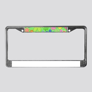 happy easter License Plate Frame