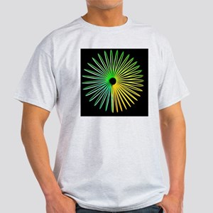 Abstract Optical Illusion Light T-Shirt