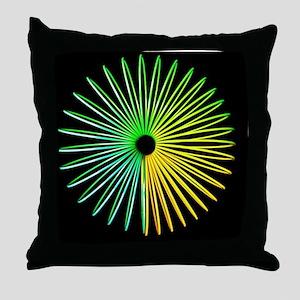 Abstract Optical Illusion Throw Pillow