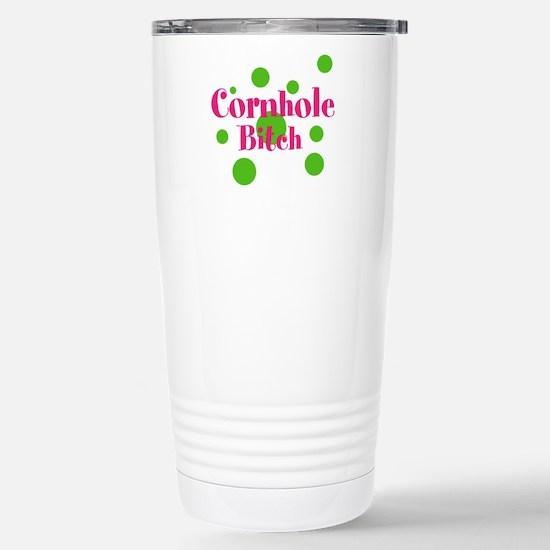 Cornhole Bitch Travel Mug