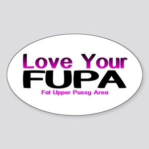 The FUPA Oval Sticker