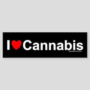 Cannabis Sticker (Bumper)