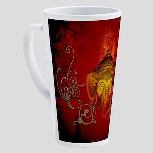 Ganesha, religios symbol 17 oz Latte Mug