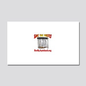 Save The Firefly Car Magnet 20 x 12