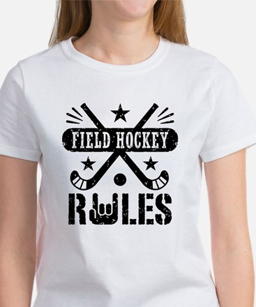 Field Hockey Rules Women's T-Shirt