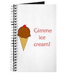 GIMME ICE CREAM Journal