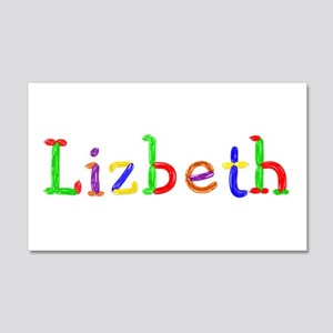 Lizbeth Balloons 20x12 Wall Peel
