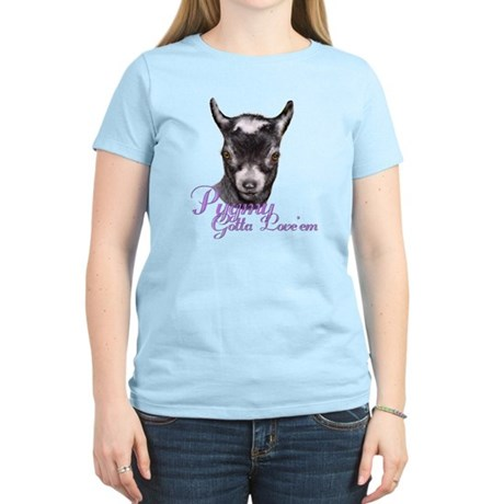 Pygmy Goat Gotta Love 'em Women's Light T-Shirt
