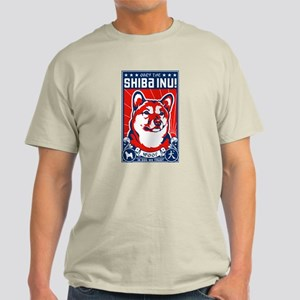 Obey the Shiba Inu Natural T-Shirt