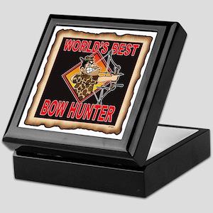 WORLS'S BEST BOW HUNTER Keepsake Box