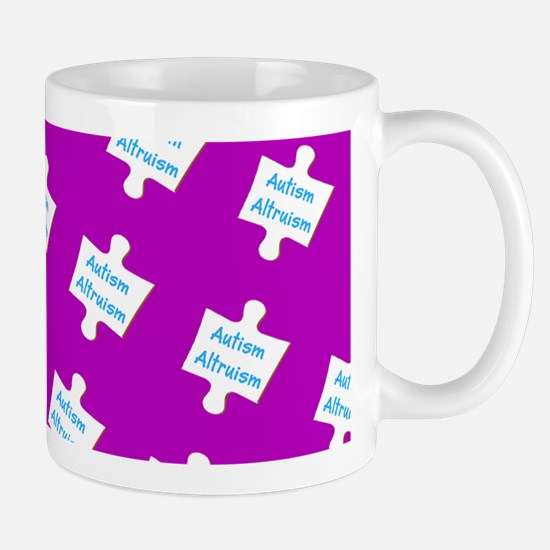 Practice Autism Altruism Purple for Victor Mugs