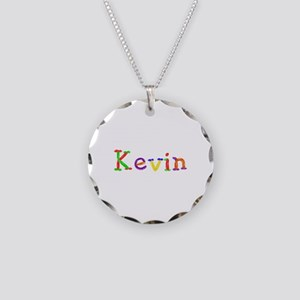 Kevin Balloons Necklace Circle Charm