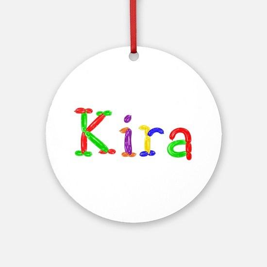 Kira Balloons Round Ornament