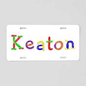 Keaton Balloons Aluminum License Plate