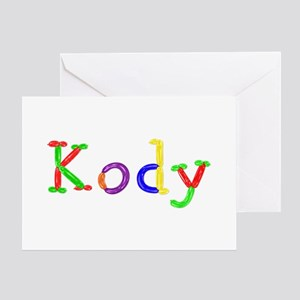 Kody Balloons Greeting Card
