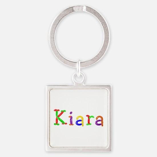 Kiara Balloons Square Keychain