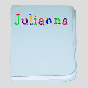 Julianna Balloons baby blanket