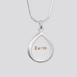 Kevin Balloons Silver Teardrop Necklace