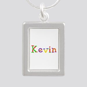 Kevin Balloons Silver Portrait Necklace