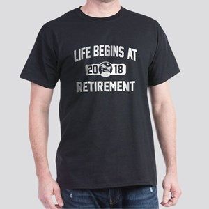 Life Begins At 2018 T-Shirt