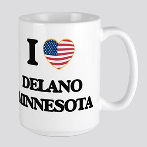 I love Delano Minnesota Mugs