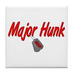 USAF Major Hunk Tile Coaster