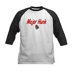 USAF Major Hunk Kids Baseball Jersey