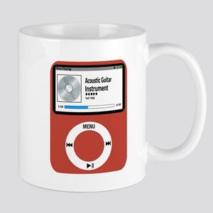 Ipad Acoustic Guitar 11 oz Ceramic Mug