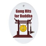 Gong Hits - Oval Ornament