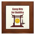 Gong Hits - Framed Tile