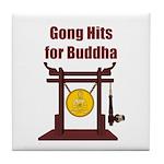 Gong Hits - Tile Coaster
