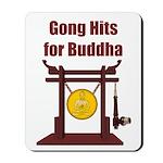 Gong Hits - Mousepad