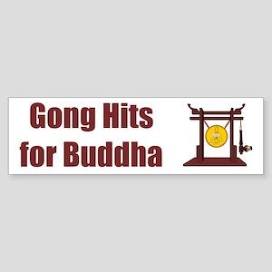 Gong Hits - Bumper Sticker
