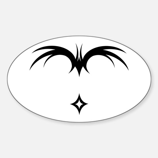 Paraglider Winged Script Oval Decal