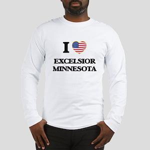 I love Excelsior Minnesota Long Sleeve T-Shirt