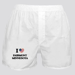 I love Fairmont Minnesota Boxer Shorts