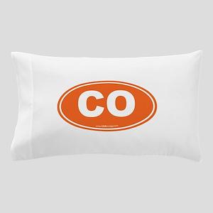 Colorado CO Euro Oval Pillow Case