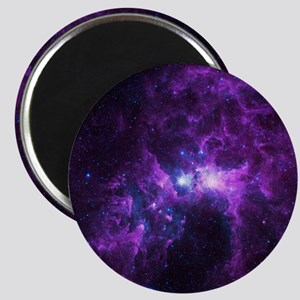 Purple Galaxy Magnet