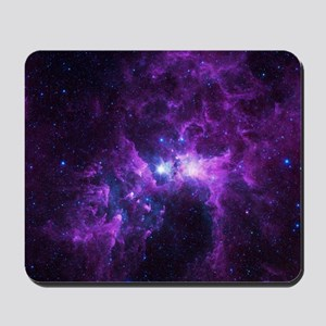 Purple Galaxy Mousepad