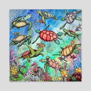 Sea Turtles Queen Duvet