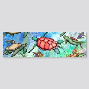 Sea Turtles Sticker (Bumper)