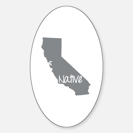 Unique Ca Sticker (Oval)