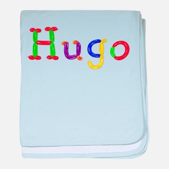 Hugo Balloons baby blanket