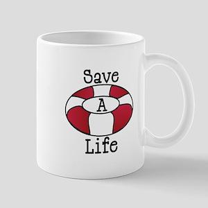 Save A Life Mugs