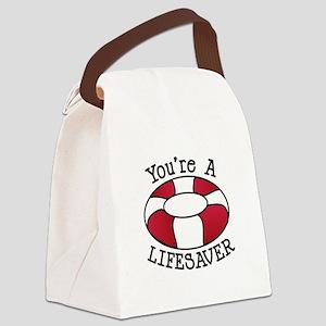 You're A Lifesaver Canvas Lunch Bag