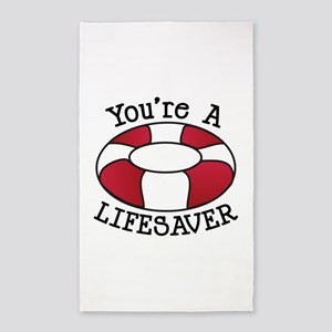 You're A Lifesaver Area Rug