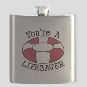 You're A Lifesaver Flask