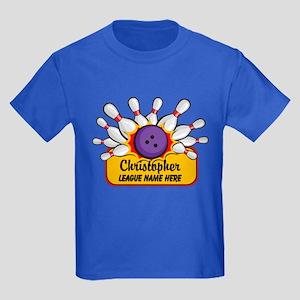 Bowling Custom Kids Dark T-Shirt