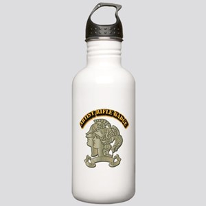 Artist Rifle Badge wit Stainless Water Bottle 1.0L