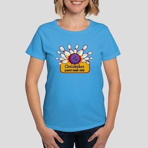 Bowling Custom Women's Dark T-Shirt